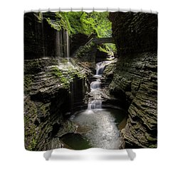 Mystic Falls Shower Curtain
