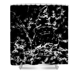 Mystic Garden Gnome Shower Curtain by Gina O'Brien