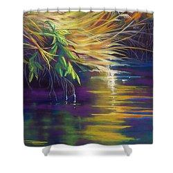 Mystic Grasses Shower Curtain