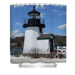 Mystic Lighthouse Shower Curtain