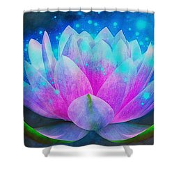 Mystic Lotus Shower Curtain
