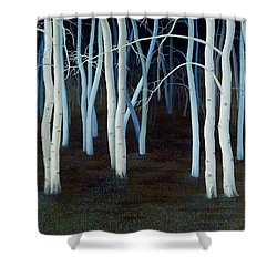 Mystic Shower Curtain by Magdolna Ban