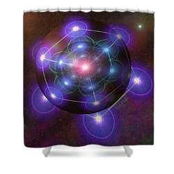 Mystical Metatron Shower Curtain