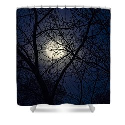 Mystic Moon Shower Curtain