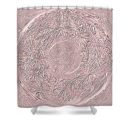 Mystic Pink. Art Shower Curtain