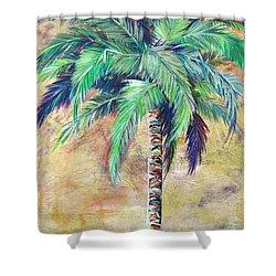 Mystic Palm Shower Curtain