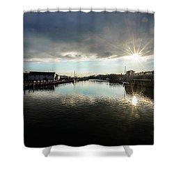 Mystic River Shower Curtain