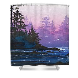 Mystic Shore Shower Curtain by James Williamson
