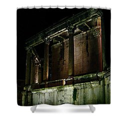 Shower Curtain featuring the photograph Mystic Split  by Danica Radman