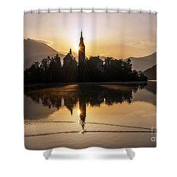 Mystic Sunrise Shower Curtain
