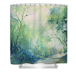 Mystic Trail Shower Curtain