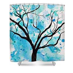 Mystic Tree Shower Curtain