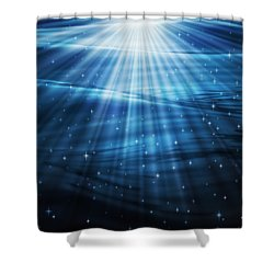 Mystic Waters Shower Curtain