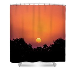 Shower Curtain featuring the photograph Mystical And Dramatic by Shelby Young