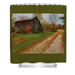 Mystical Country Lane  Shower Curtain