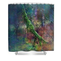 Mystical Moss - Series 1/2 Shower Curtain