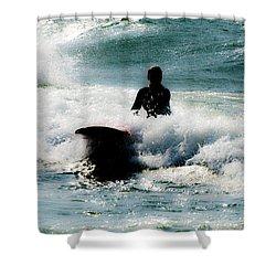 Shower Curtain featuring the photograph Mystical Surf by Tara Lynn