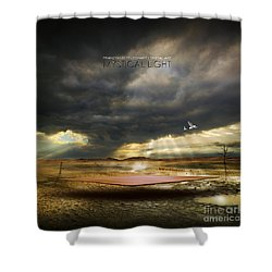 Mystical Light Shower Curtain