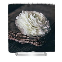 Shower Curtain featuring the photograph Mystique by Kim Hojnacki