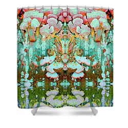 Mythic Throne Shower Curtain