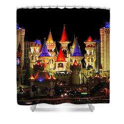 Mythologic Palace Shower Curtain