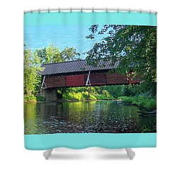 N. Troy Bridge Shower Curtain by John Selmer Sr