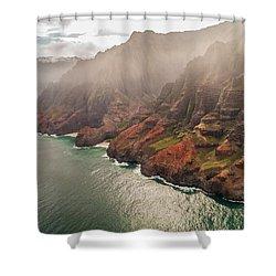 Na Pali Coast 4 - Kauai Hawaii Shower Curtain