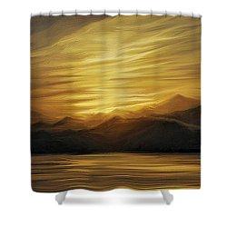 Naama Bay, Egypt Shower Curtain