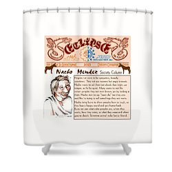 Real Fake News Society Column 2 Shower Curtain