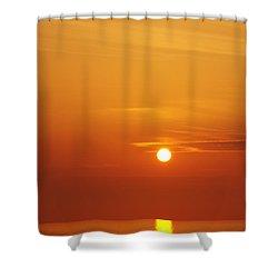 Nago Sunset Okinawa Japan Shower Curtain