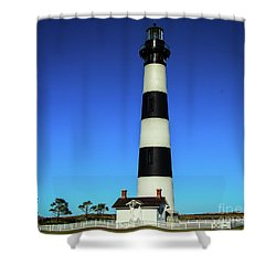 Nags Head Lighthouse Shower Curtain
