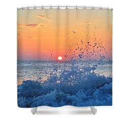 Nags Head Sunrise 7/15/16 Shower Curtain