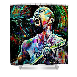 Nahko Bear Shower Curtain