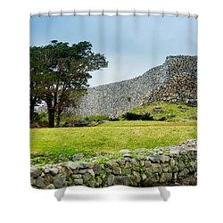 Nakajin Castle Shower Curtain