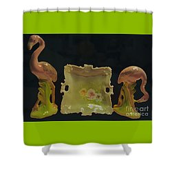 Nana's Things Xii Shower Curtain by Cassandra Buckley