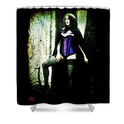Nancy 1 Shower Curtain by Mark Baranowski