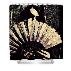 Nancy 2 Shower Curtain by Mark Baranowski