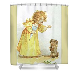 Nancy And Spot Shower Curtain