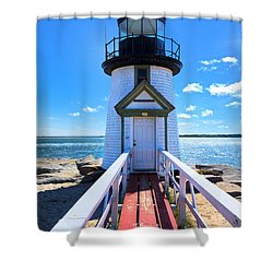 Nantucket Lighthouse - Y3 Shower Curtain