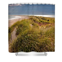 Napatree Point Preserve Shower Curtain