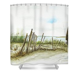 Napatree Point Watch Hill, Ri Shower Curtain