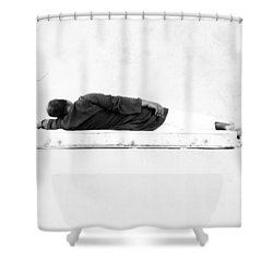 Napha Shower Curtain by Jez C Self