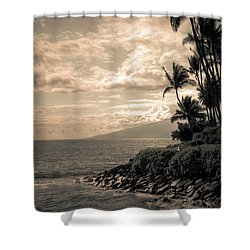 Napili Heaven Shower Curtain by Kelly Wade