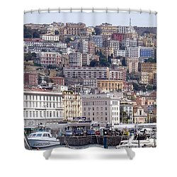 Naples In The Spring Shower Curtain
