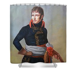 Napoleon Bonaparte As First Consul Shower Curtain