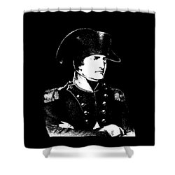 Napoleon Bonaparte Shower Curtain by War Is Hell Store
