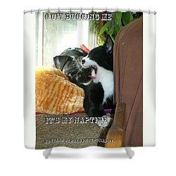 Naptime Shower Curtain by Jewel Hengen