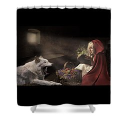 Shower Curtain featuring the digital art Naptime Story by Nicole Wilde