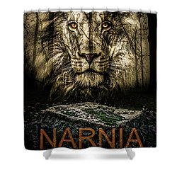 Narnia Lives Shower Curtain