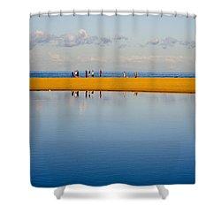 Narrabeen Dunes Shower Curtain by Sheila Smart Fine Art Photography